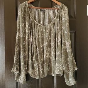 Flowy Blouse with bell sleeves